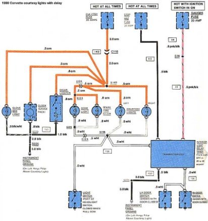 full electrical wiring diagram (c3 1980) - corvetteforum - chevrolet  corvette forum discussion  corvette forum