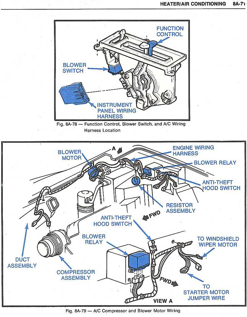 1974 Corvette Blower Motor Wiring Diagram